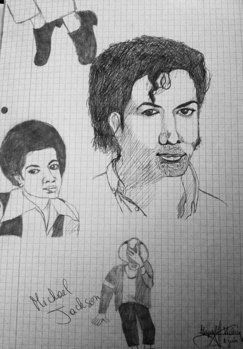 Michael Jackson by Margalith
